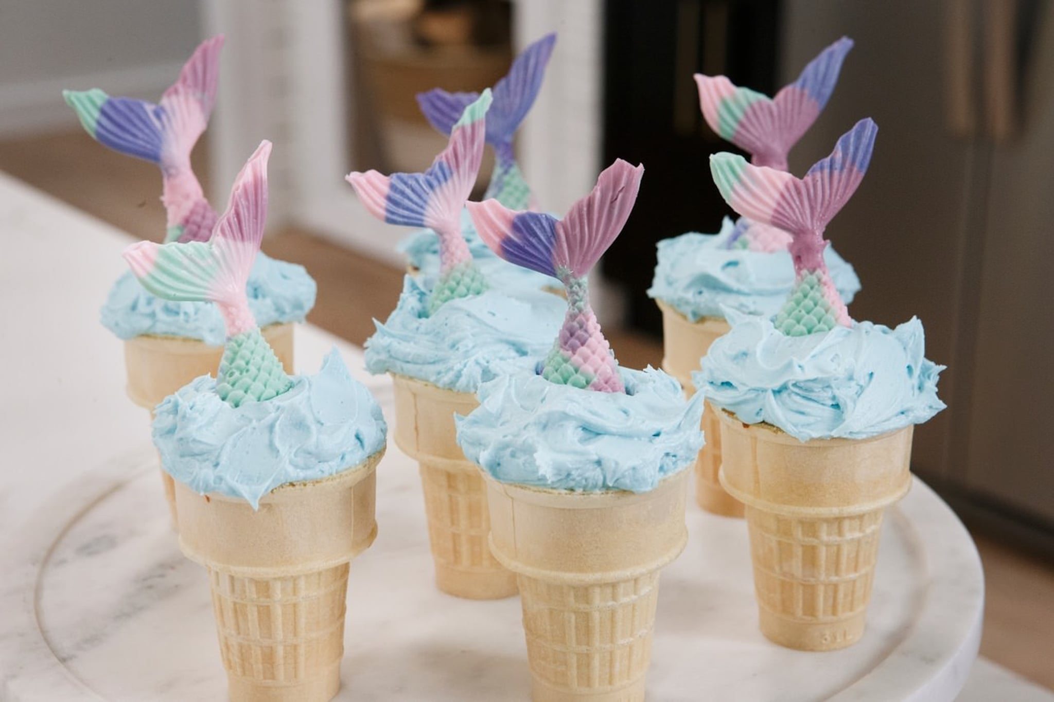 how to make cupcakes in ice cream cones video