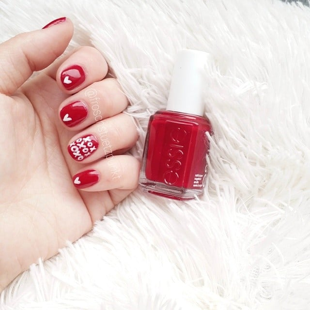 Best valentines day nail art of instagram popsugar beauty 100 crush worthy valentines day nail art prinsesfo Choice Image