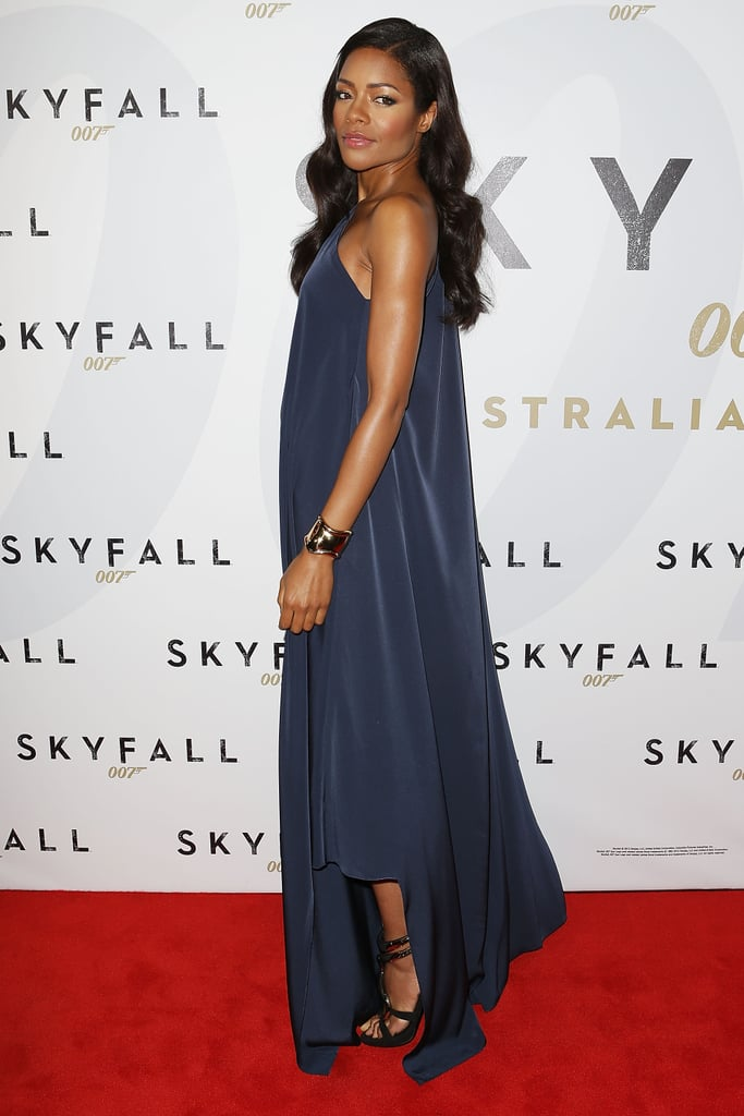 Naomie Harris posed at the Australian premiere of Skyfall.