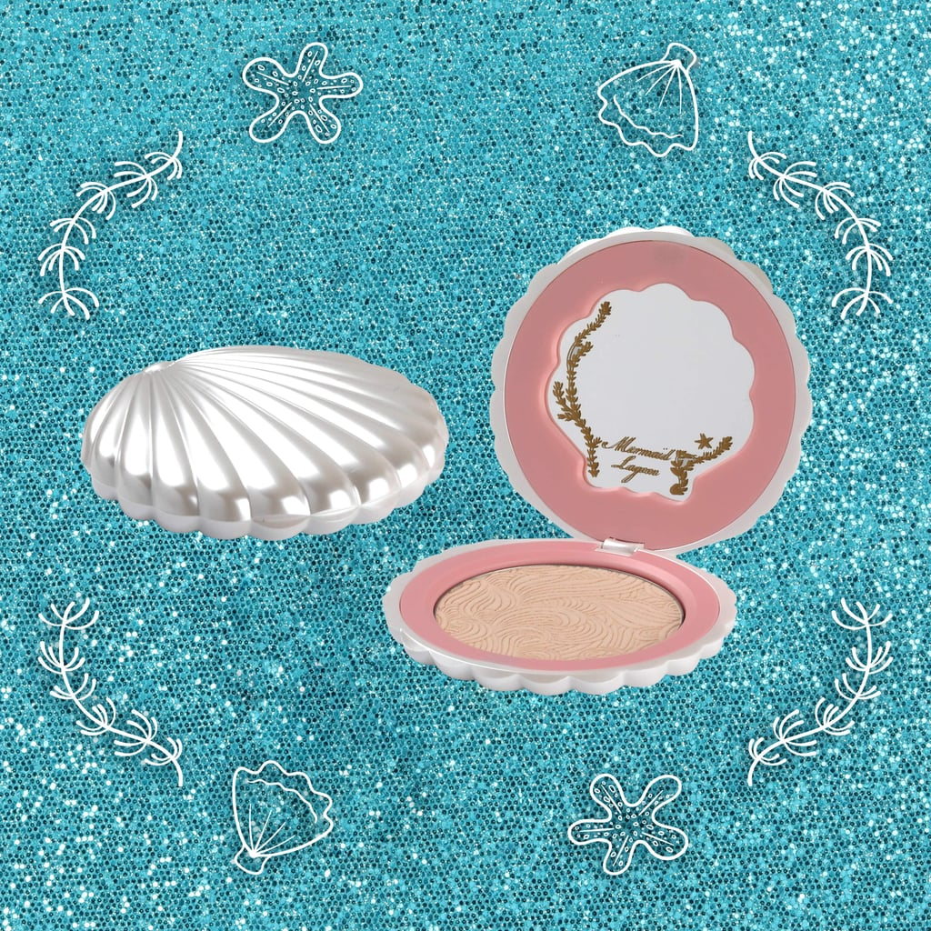 Pearl Shimmer Shell Compact