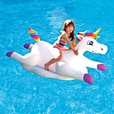 Blue Wave Rainbow Unicorn Ride-On Pool Float