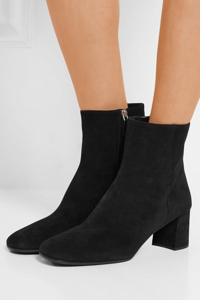 Prada Suede Ankle Boots, $1,030