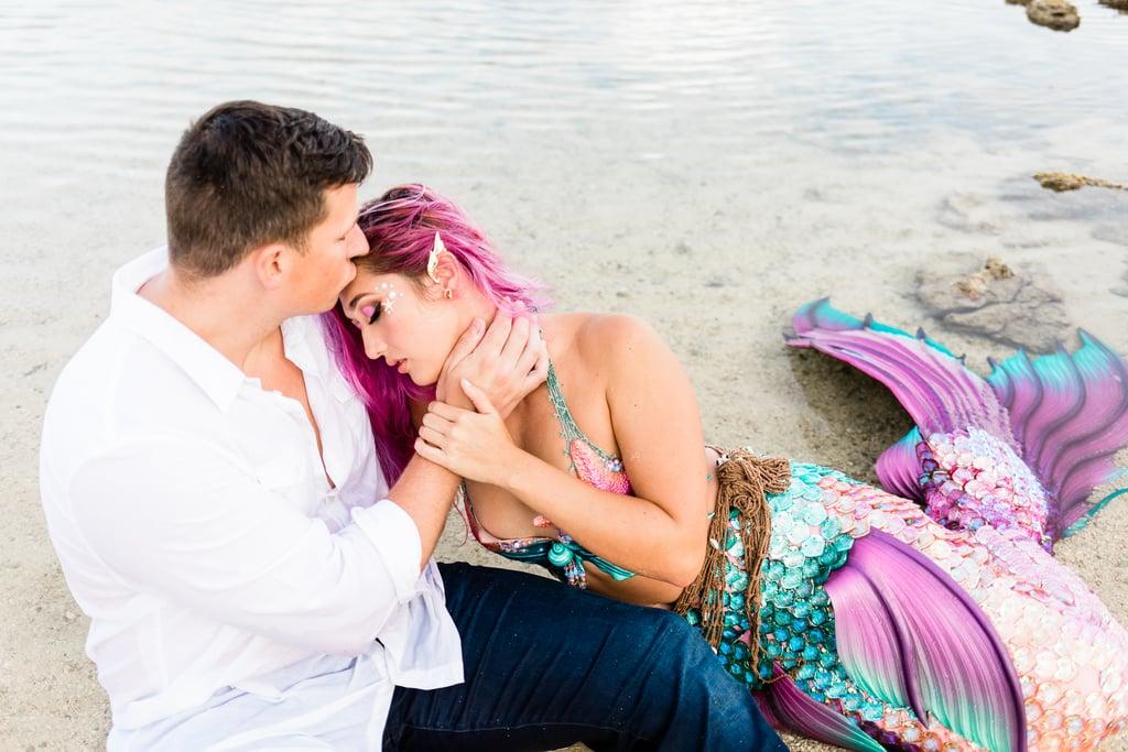 A Couple's Sexy Mermaid-Themed Photo Shoot