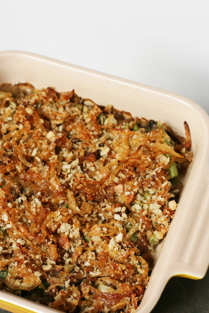 Green Bean and Mushroom Casserole With Caramelized Onions