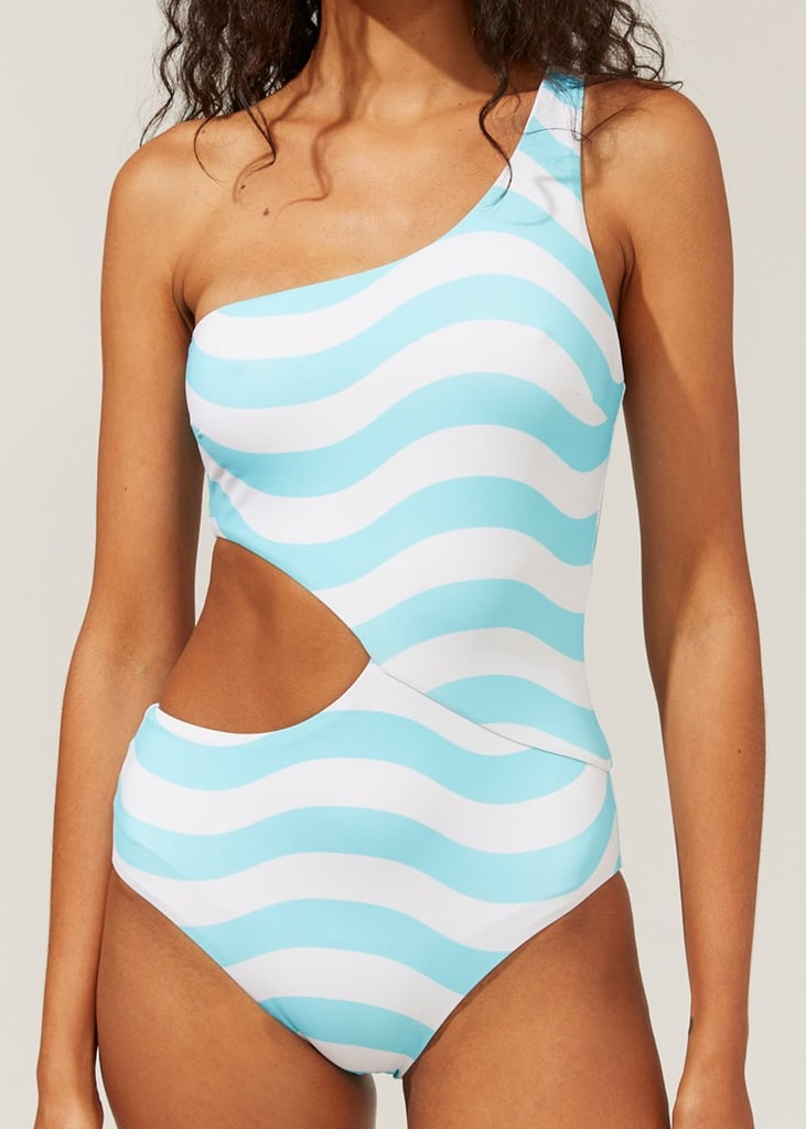Solid & Striped Reversible Claudia One-Piece