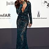 Izabel Goulart at the amfAR gala in Cannes.