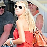 Chelsy Davy Does Lunch During a Summer Away From Prince Harry
