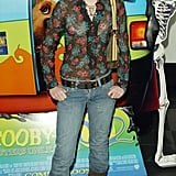 Emma wasn't afraid to go sheer on top with a floral shirt at the UK premiere of Scooby-Doo 2: Monsters Unleashed in 2004.