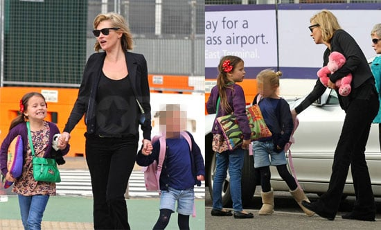 Photos of Kate Moss — Who Might Be Pregnant? — in London With Daughter Lila