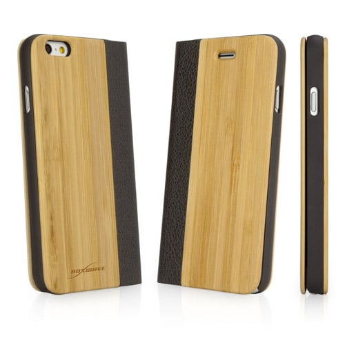 Ease your mind when using this iPhone 6S case ($30, originally $40), crafted of bamboo, a fast-growing plant.