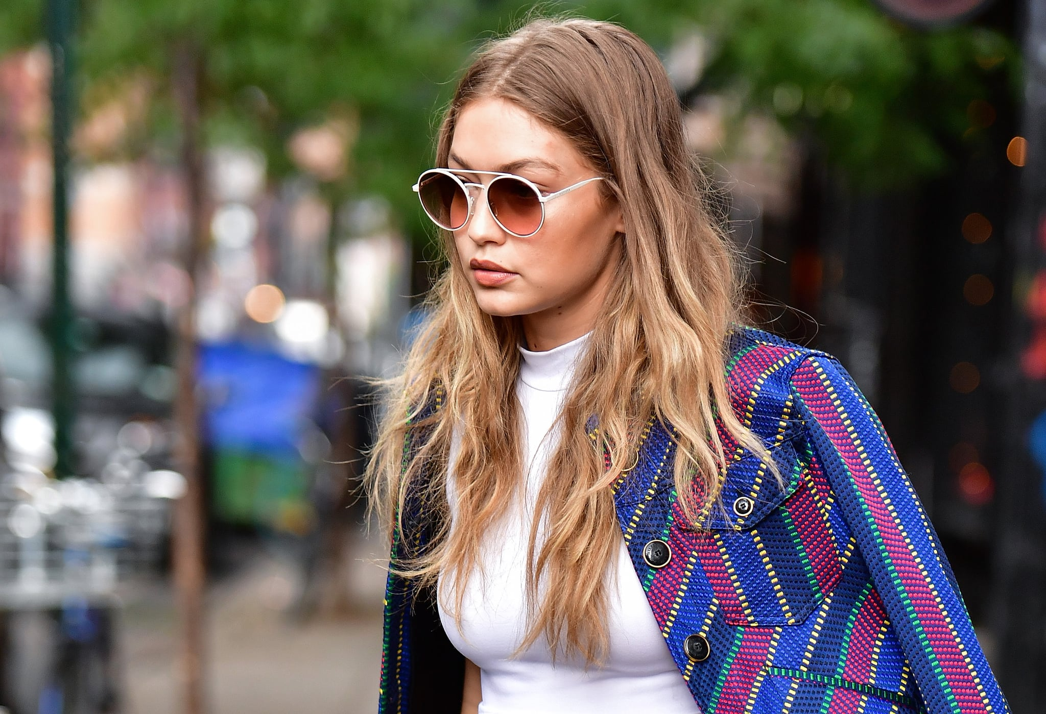 How To Get Gigi Hadids Blonde Hair Colour Popsugar Beauty Australia