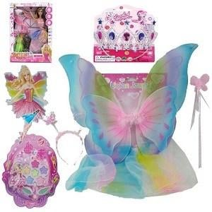 Fairy Girls Showbag ($20) Includes:  Fairy wings  Fairy headpiece  Rainbow fairy skirt