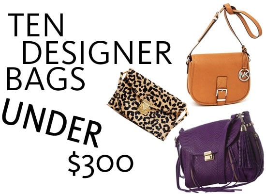 Top Ten Designer Bags Under $300 Online, Including Kate Spade, Tory Burch, Marc by Marc Jacobs, Calvin Klein and more!