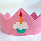 Felt Like Celebrating Birthday Crown