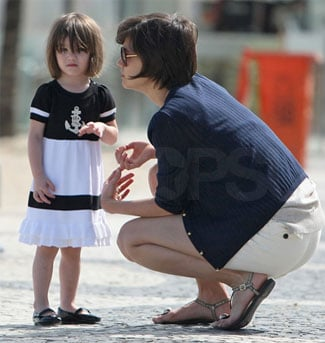 Katie and Suri on the Beach in Rio