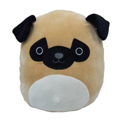 Squishmallow Prince the Pug Large Super Soft Pillow Plush