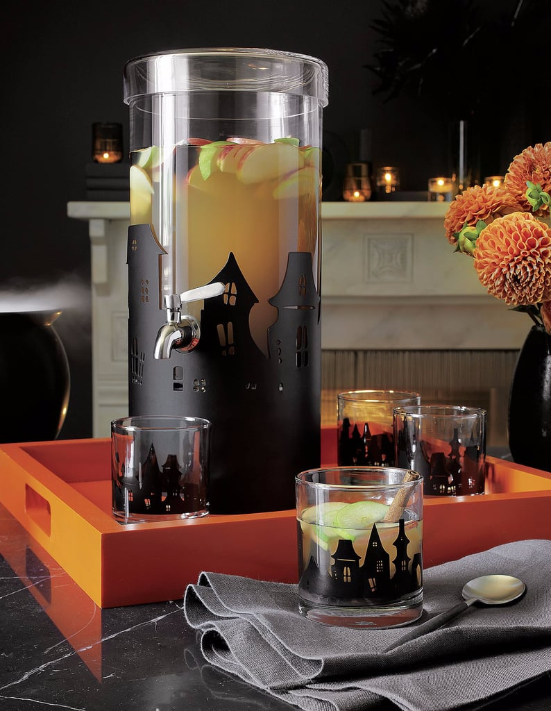 Crate and Barrel Halloween Decor