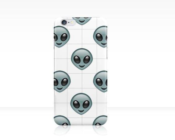 Alien Emoji Phone Case ($24)