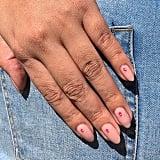 Tonal Studs Nail Art Trend