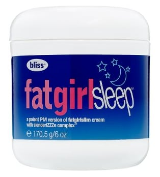 Saturday Giveaway! Bliss Fat Girl Sleep