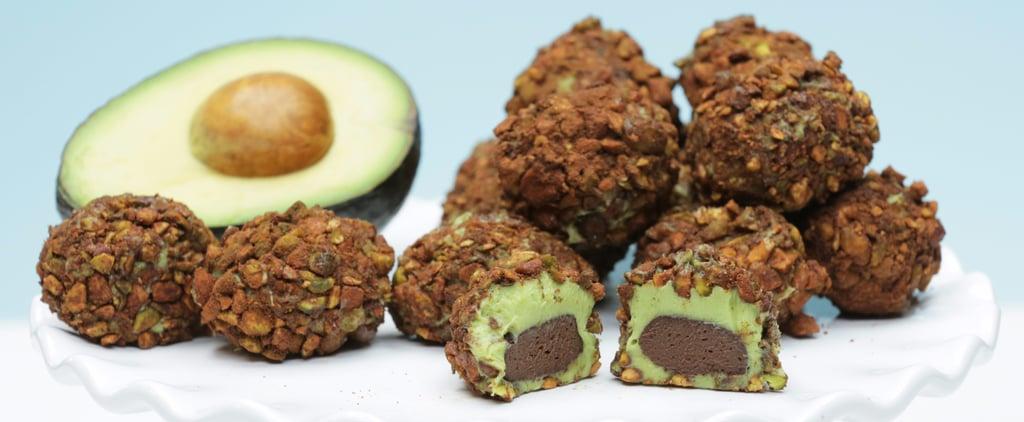These Avocado Truffles Look Like the Fruit Too!