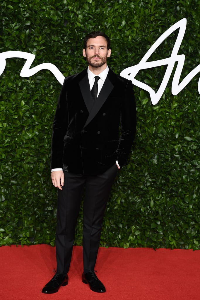 Sam Claflin at the British Fashion Awards 2019