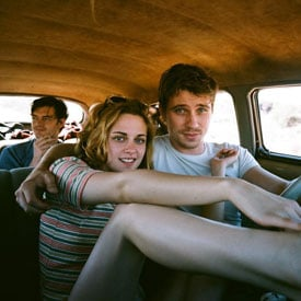 Pictures of Kristen Stewart in On the Road With Garrett Hedlund