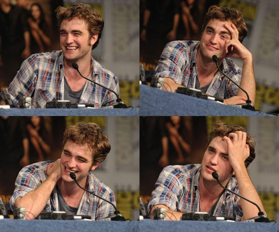Slideshow of Photos of Robert Pattinson at Comic-Con
