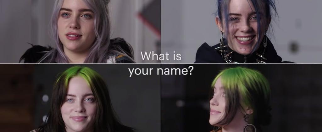 Watch Billie Eilish's 2020 Vanity Fair Time Capsule Video