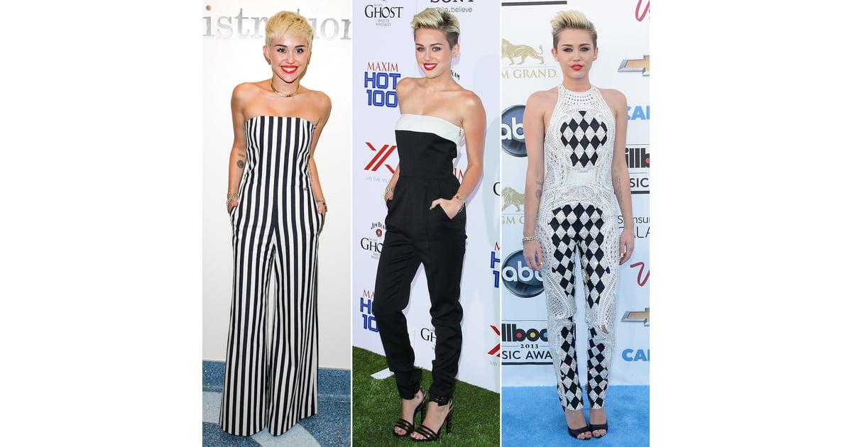 Miley Cyrus Fashion Style Popsugar Fashion Uk