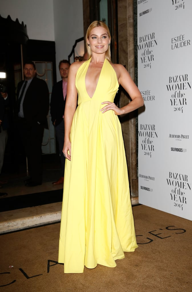 Margot Robbie was a standout in yellow when she attended the Harper's Bazaar Women of the Year Awards in London this week, and her look brought back memories of Blake Lively's appearance at a film premiere a few years ago. Margot will be back in Australia later this week as a guest at Stakes Day, which will wrap up an exciting few days of Spring racing. She's not the only Aussie star posing up a storm on an international red carpet this week — Nicole Kidman and Keith Urban couldn't hide their smiles at the BMI Country Awards. To see even more great celebrity shots, keep reading. Want more? Follow us on Facebook, Twitter, Instagram and Pinterest!