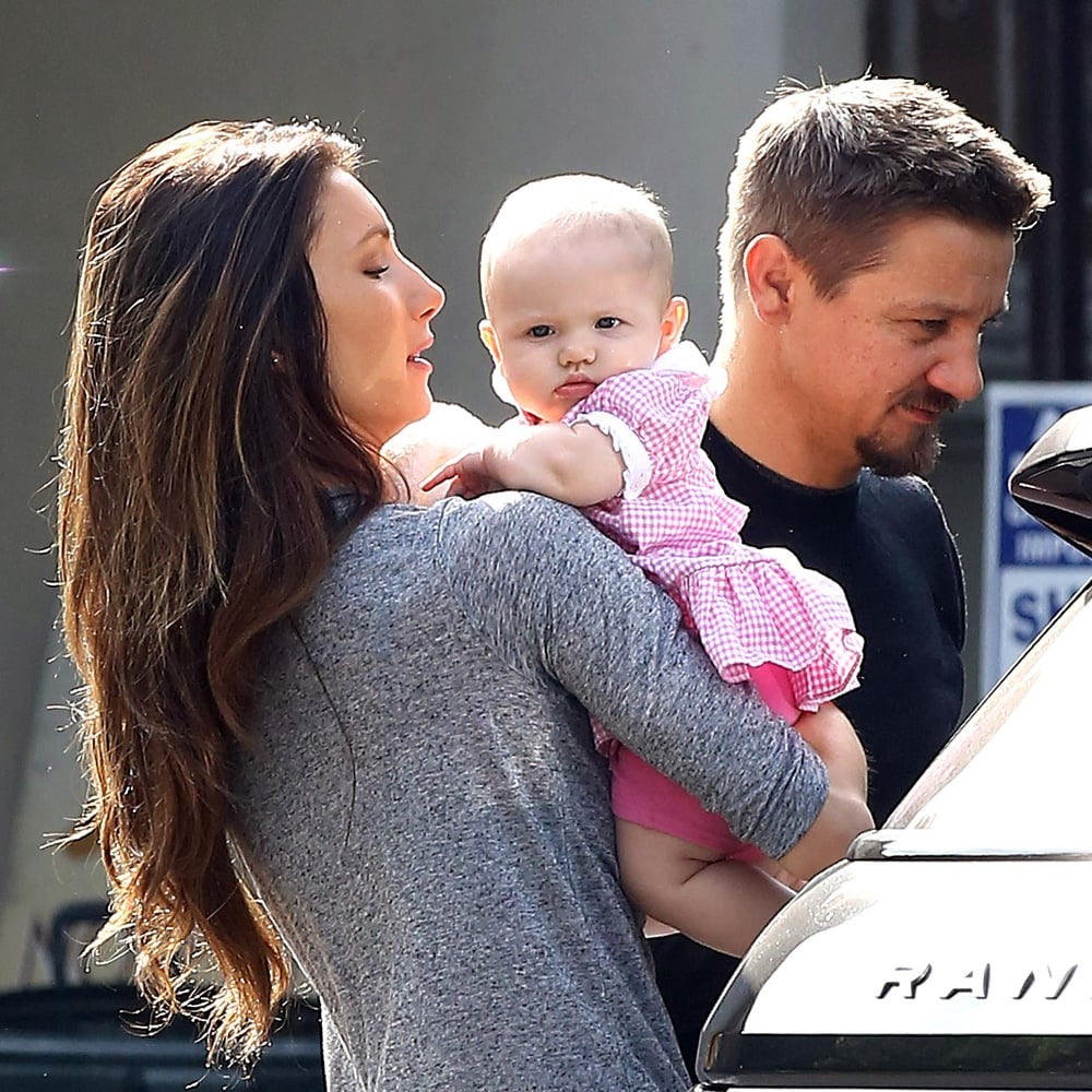 Jeremy Renner's Daughter Ava   Photos