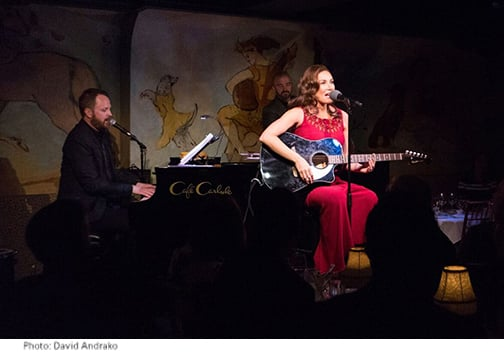 Laura Benanti Off-Broadway at the Café Carlyle