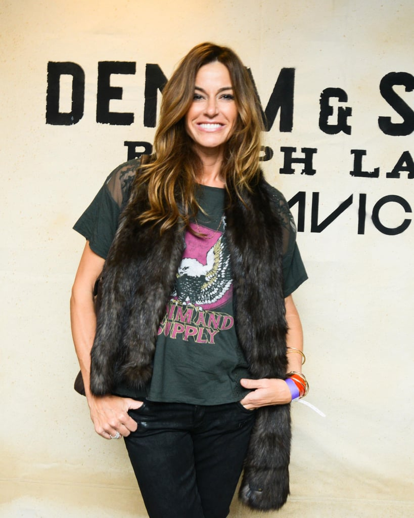 Kelly Bensimon got a show at the Denim & Supply Avicii concert at New York's Roseland Ballroom.  Source: Denim & Supply