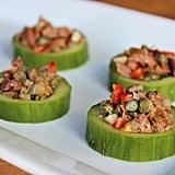 Vegan: Cucumber Cups