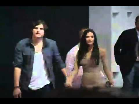 Ashton Kutcher and Demi Moore are Booed After Arriving Three Hours Late to Colcci Show in Brazil