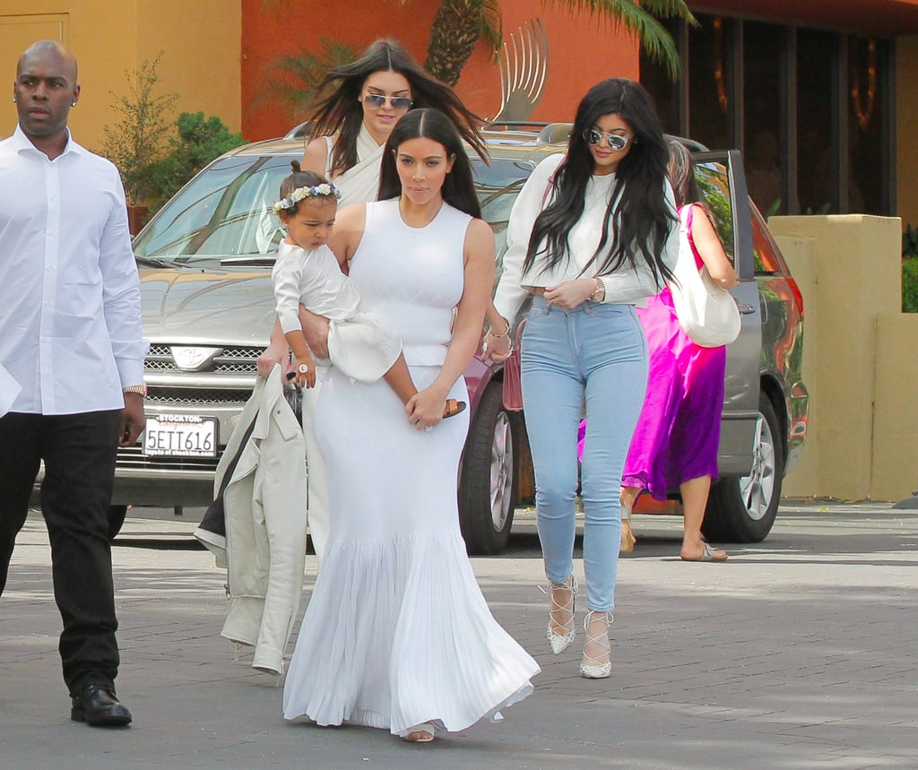 Kardashian Easter Outfits