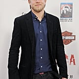 He posed for pictures at the Sons of Anarchy season five premiere screening in LA in September 2012.