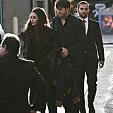 Ashton Kutcher and Mila Kunis in LA March 2016