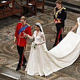 Will Greeting Kate at the Altar, 2011