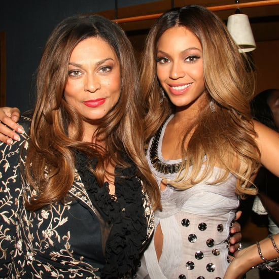 Beyonce Not Liking Mom Tina Lawson's Corny Joke Time Videos
