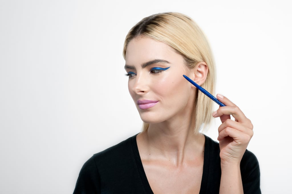 March 31, Day 19: Go bold with blue eyeliner