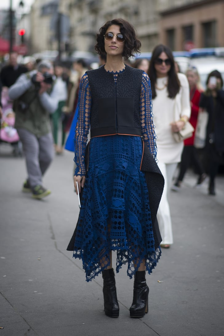 Pfw Street Style Day Six Best Street Style At Paris Fashion Week Fall 2014 Popsugar Fashion