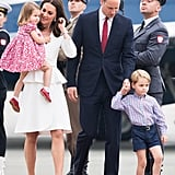 The British Royal Family Poland Tour Pictures 2017