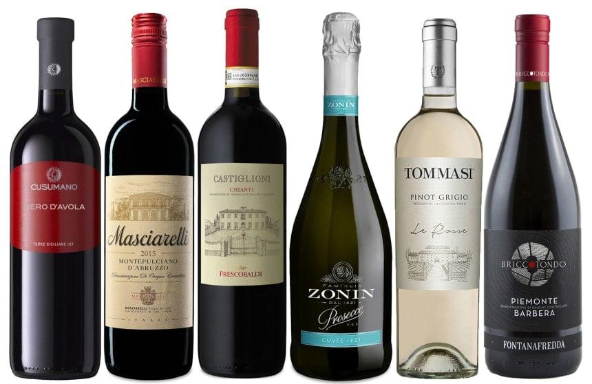 Viva Italia! Italian Wine Gift Set