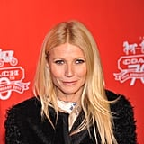 Gwyneth Paltrow wore a fur jacket.