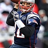 Tom Brady played with the Patriots.