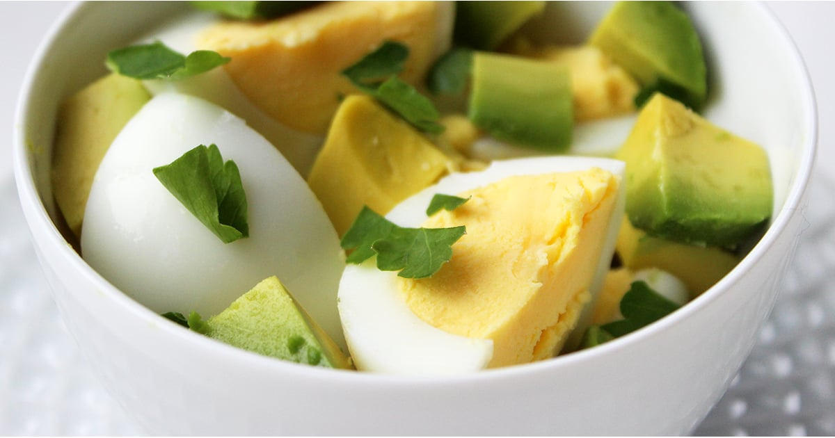 Hard boiled eggs with avocado popsugar fitness forumfinder Choice Image