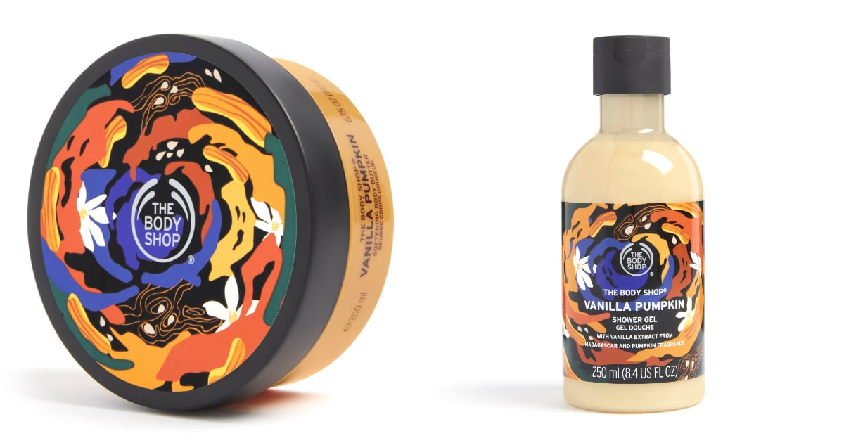 Grab Your Fuzzy Socks and Get Ready: The Body Shop's Vanilla Pumpkin Collection Is Here