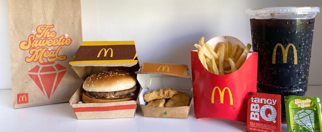 McDonald's Saweetie Meal Review